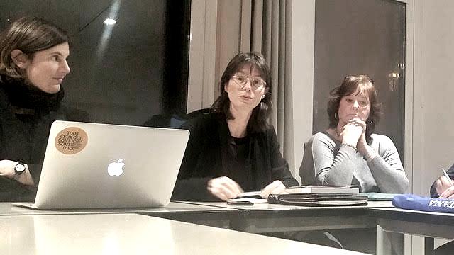 Gila Kolb, Nora Sternfeld, Regina Oesterling; Foto: Miki Lazar