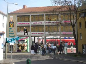 Bildstudie zu einem Kasseler Kulturhaus an der Unteren Karlsstr.14