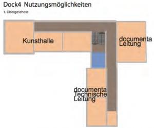 dock4 Nutzungsmöglichkeiten - Obergeschoss