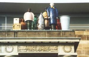 """""""Die Fremden"""", Thomas Schütte, doc9, 1992"""