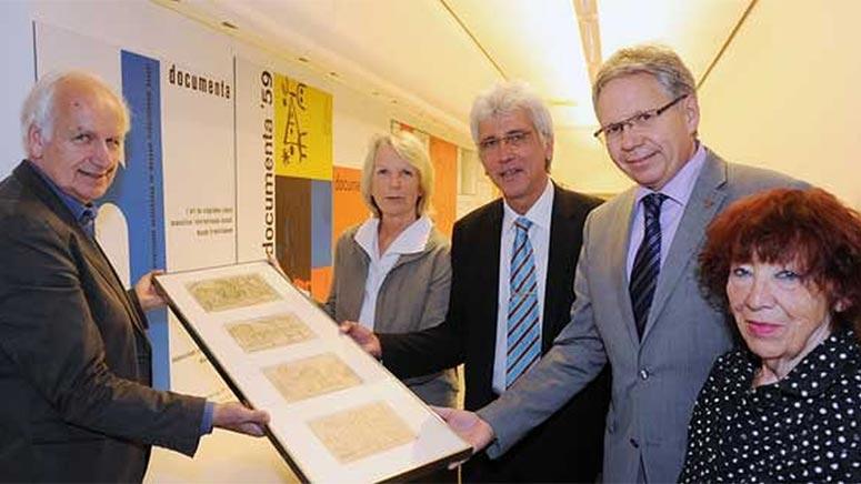 Zeichnungen von Arnold Bode für das documenta Archiv