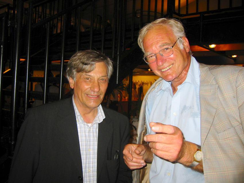 Jan Hoet und Volker Stockmeyer; Foto: Jan Hendrik Neumann