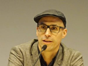 Prof. Joel Baumann, Rektor der Kunsthochschule Kassel