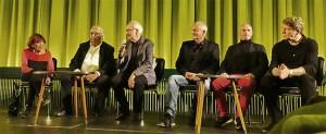 documenta 1 als Film, Podiumsdiskussion, Foto Gert Hausmann