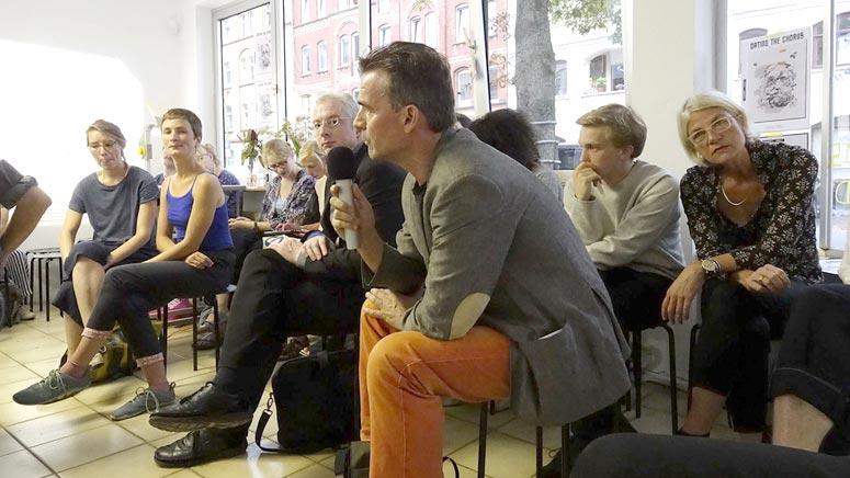Dating the Chorus – Kunstvermittlung auf der #documenta14