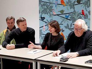 Kulturdezernentin Susanne Völker (Jörn Budesheim, Lutz Freyer, Jörg Sperling)