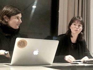 Gila Kolb und Nora Sternfeld