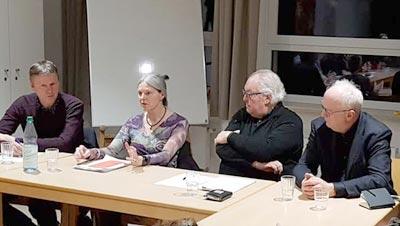 Jour fixe am 11.03.2019 Gast: Frau Dr. Schormann, Generaldirektorin der documenta gGmbH