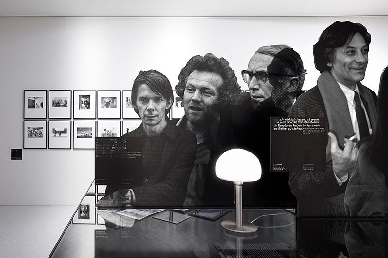 """Ausstellungsansicht """"bauhaus I documenta. Vision und Marke"""" © documenta archiv / Foto: Nicolas Wefers"""