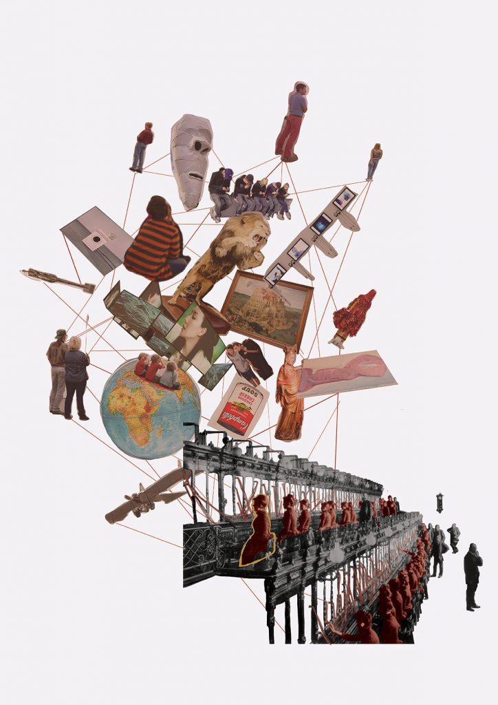Telefonvermittlung: Illustration Valerie Tiefenbacher