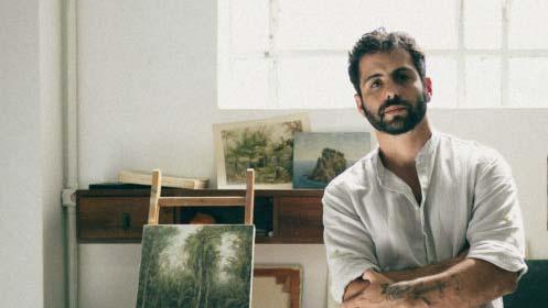 Lucas Arruda, Portrait by Gui Gomes