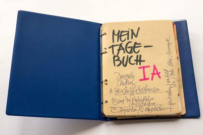 Bode Tagebuch, © documenta Archiv / Rothen