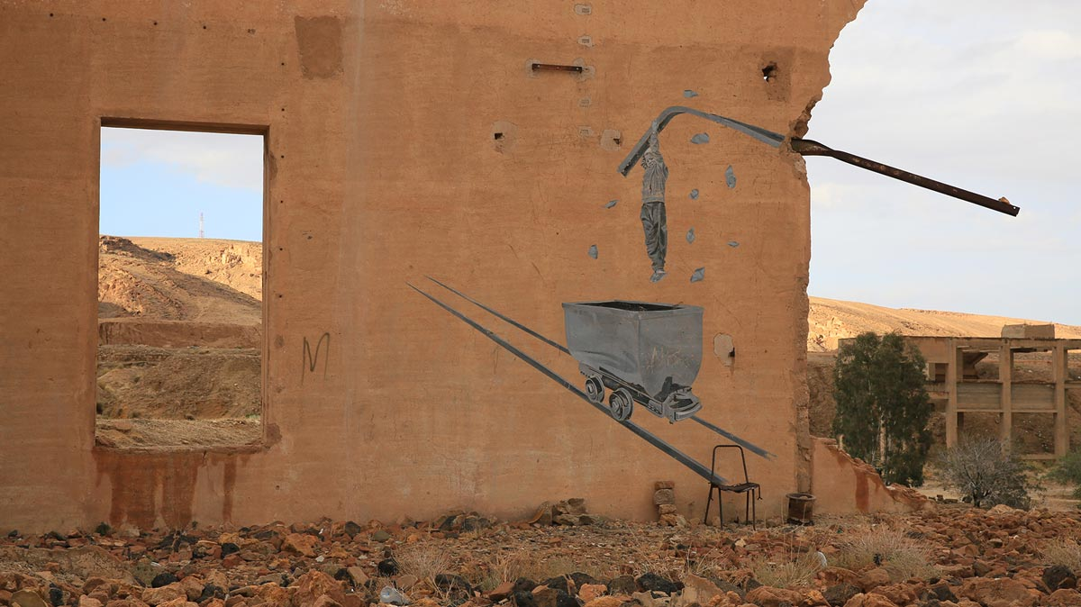 Redeyef in Tunesien, Foto: Nabil Boutros für Siwa plateforme